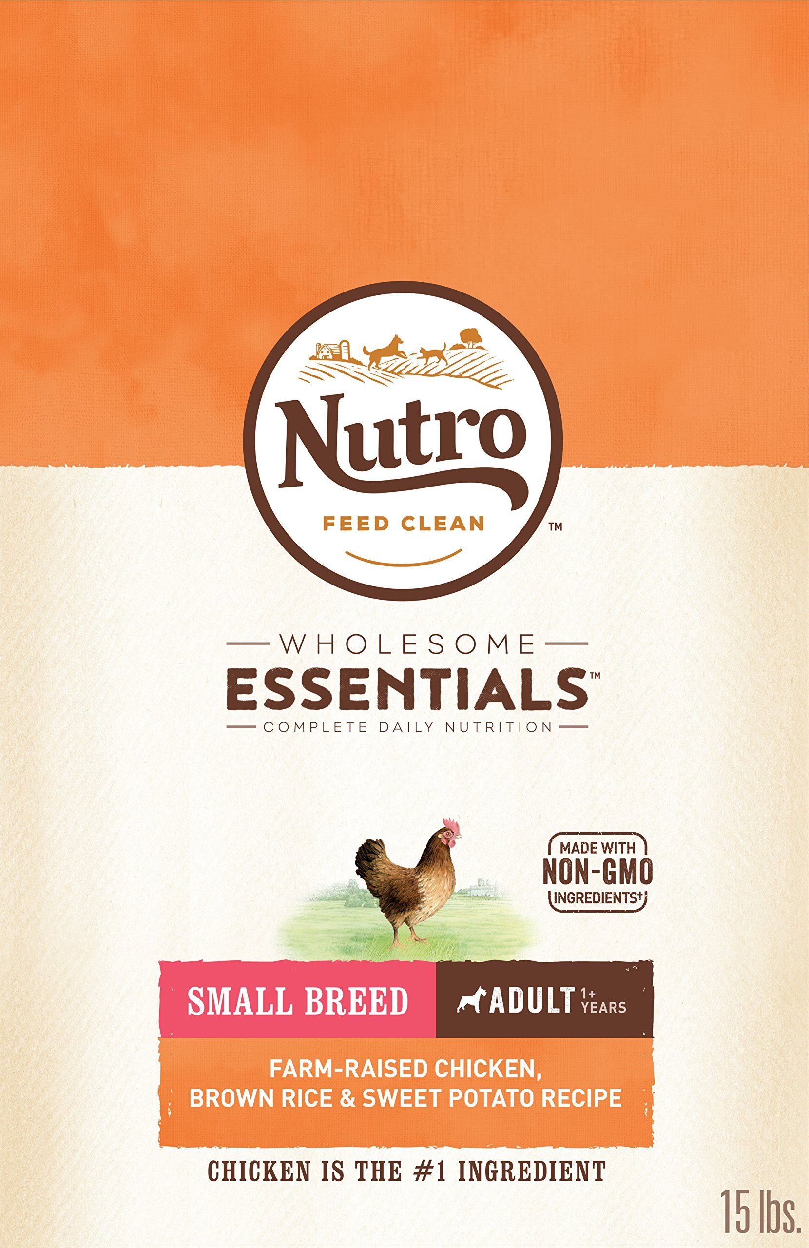 Nutro Small Breed Adult Dry Dog Food Chicken 15 Lb Bag