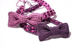 ...cherchez la femme!: Crochet headband with bow: Free DIY pattern