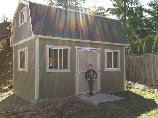adorable tuff shed pictures. 12 x16  PRO Tall Barn by TUFF SHED Storage Buildings Garages via Flickr
