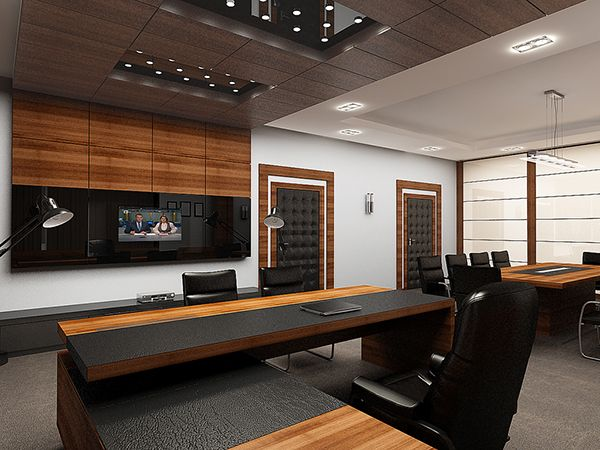 Executive Director Office & Conference Room: Complete