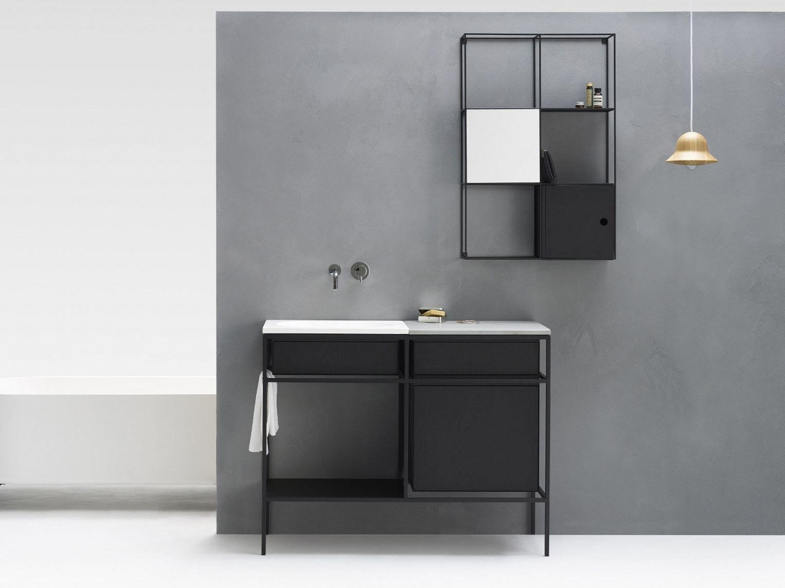 mueble bajo lavabo con cajones frame by ex.t diseño norm, Badezimmer ideen
