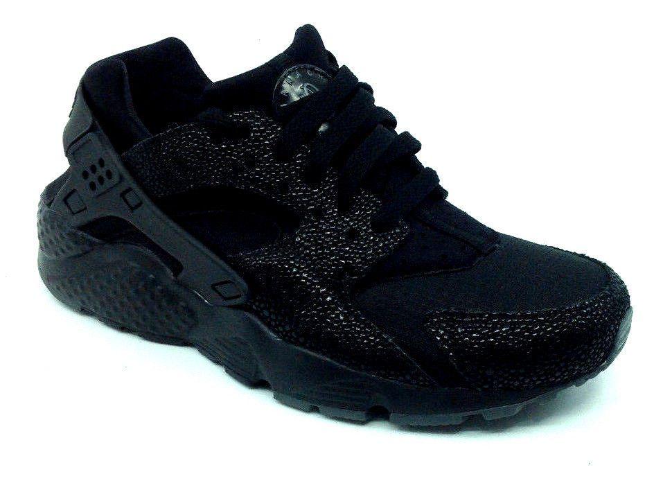 NIKE HUARACHE RUN SE (GS) BLACK DARK GREY 909143-001 Size 4.5 Y (eBay Link) 0a3168f53