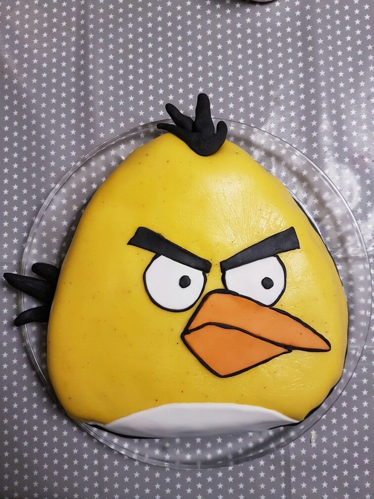 Images For Gt Red Angry Bird Cake Angry Birds Cake Angry