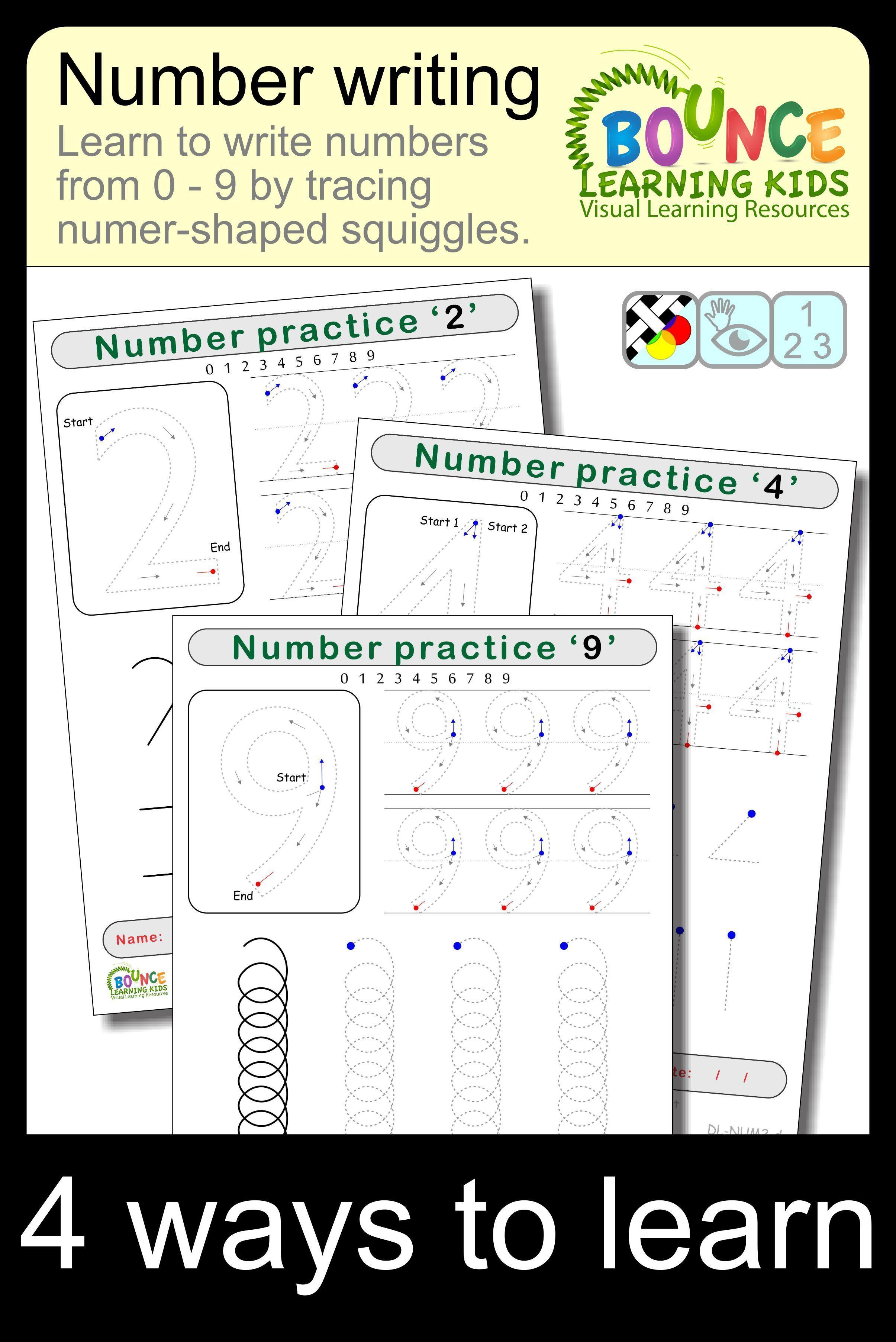 Writing Numbers 10 Literacy Amp Hand Eye Coordination