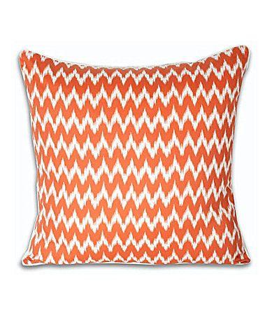 THRO By Marlo Lorenz Ian Ikat Decorative Pillow Dillards Navy And Extraordinary Fairon Decorative Throw Pillow