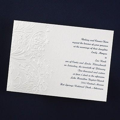 Floral Glimmer Vintage Invitation - Vintage Wedding Invitation Ideas - Vintage Wedding Invites
