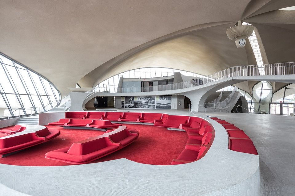 A Portrait Of The Twa Flight Center Soon To Be Hotel