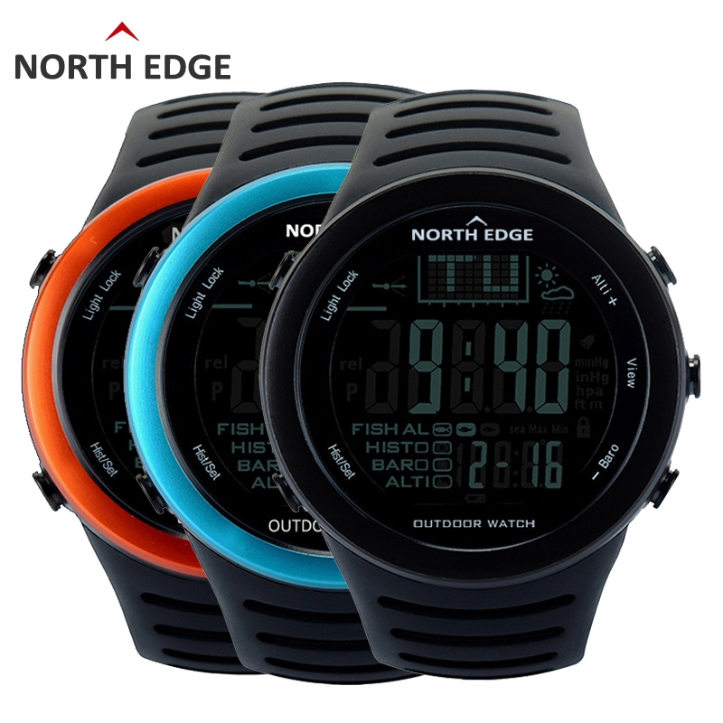52 Buy here NORTHEDGE Men Digital watches outdoor watch
