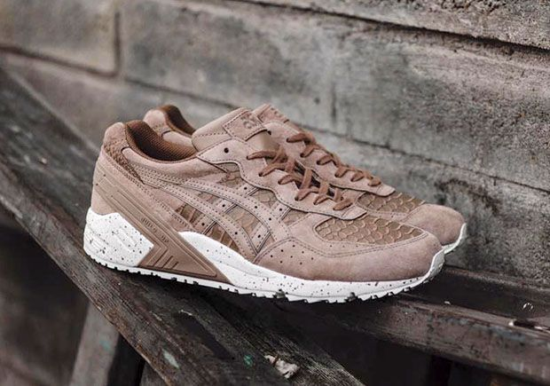 asics gel-sight trainers in beige
