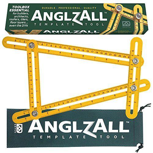 Universal Angleizer Ruler Template Tool with Multi Angle All Angles Measuring