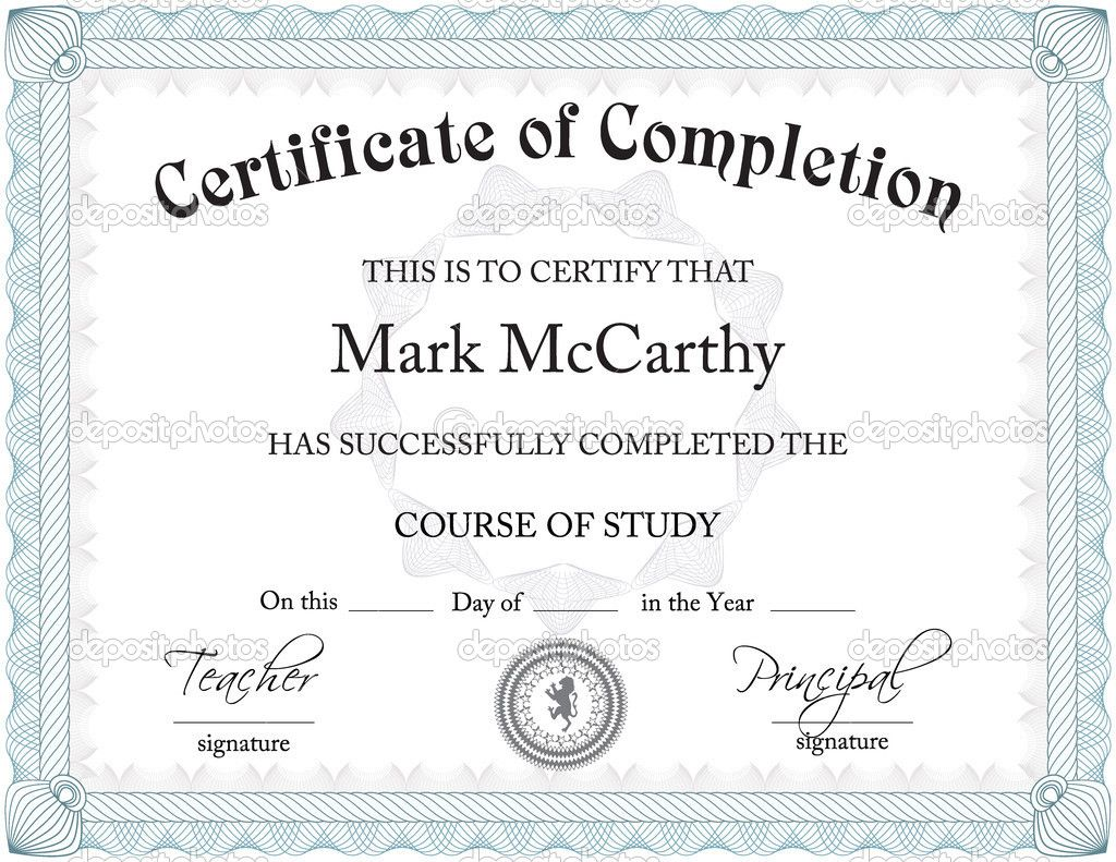 Template Certificate Of Authenticity 45 Fee Printable Wit Certificate Of Achievement Template Certificate Of Completion Template Free Certificate Templates