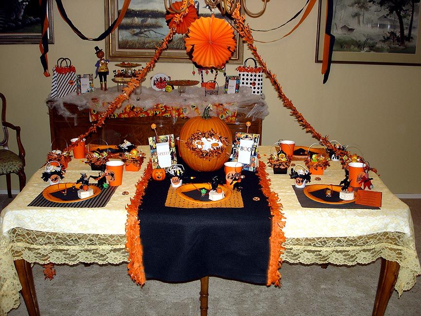 The Vintage Halloween Website: Halloween Party & Decorating Ideas ...