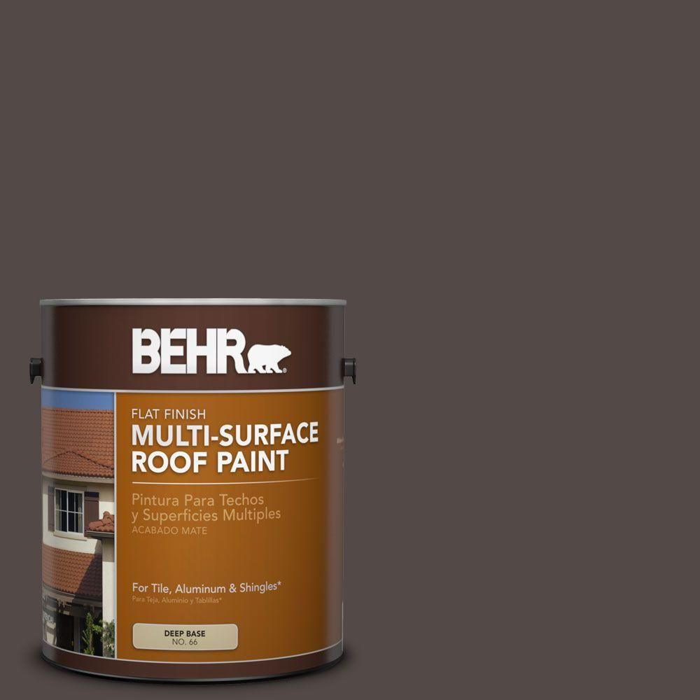 Best Behr 1 Gal Rp 31 Chaparral Brown Flat Multi Surface 400 x 300