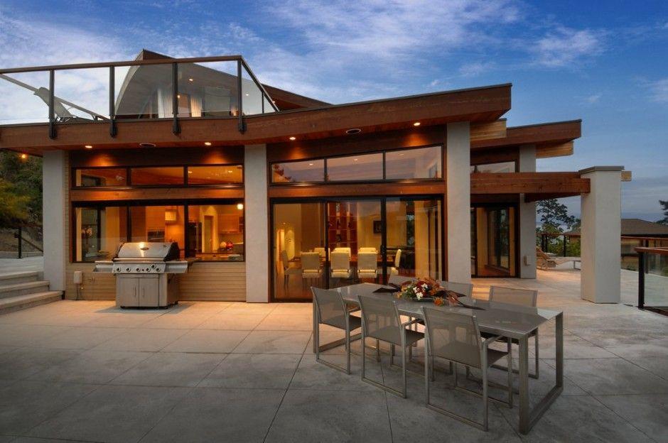 Kieth baker designed the armada house located in victoria bc canada