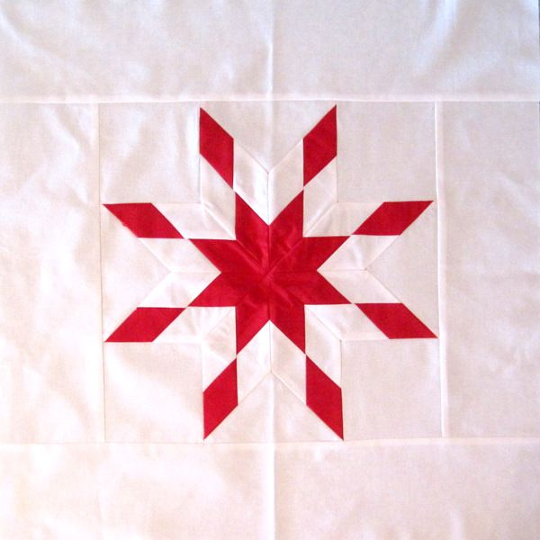 Peggy S Cornerstone For Lone Star Quilt So Simple But