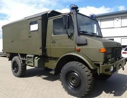 Unimog Sbu 435 U1300l Ambulance Unimog Trucks Pinterest