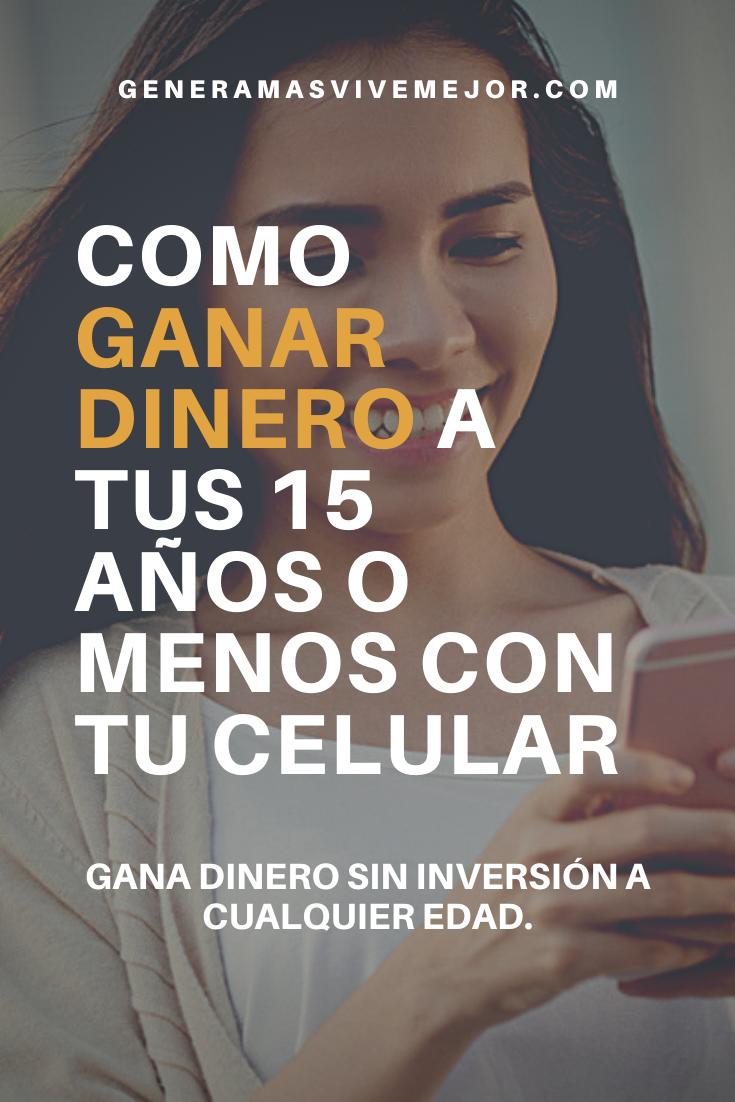 Gana Dinero Siendo Un Adolescente Reto De Dinero Como Ganar Dinero Ganar Dinero
