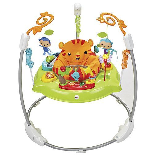 Tesco Direct Fisher Price Roarin Rainforest Jumperoo Baby Bouncer Baby Activity Center Fisher Price Jumperoo Jumperoo
