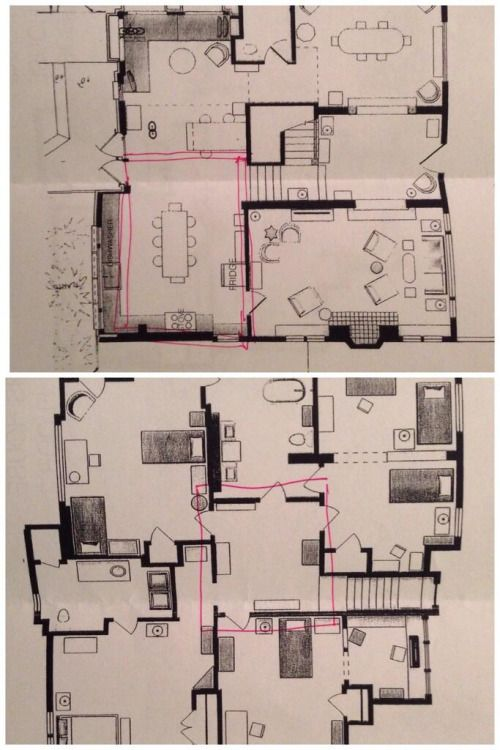 Floor Plan For The House From Quot The Fosters Quot Always Loved