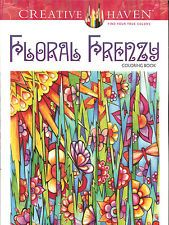 Floral Frenzy - A Creative Haven Adult Coloring Book from Dover Publications