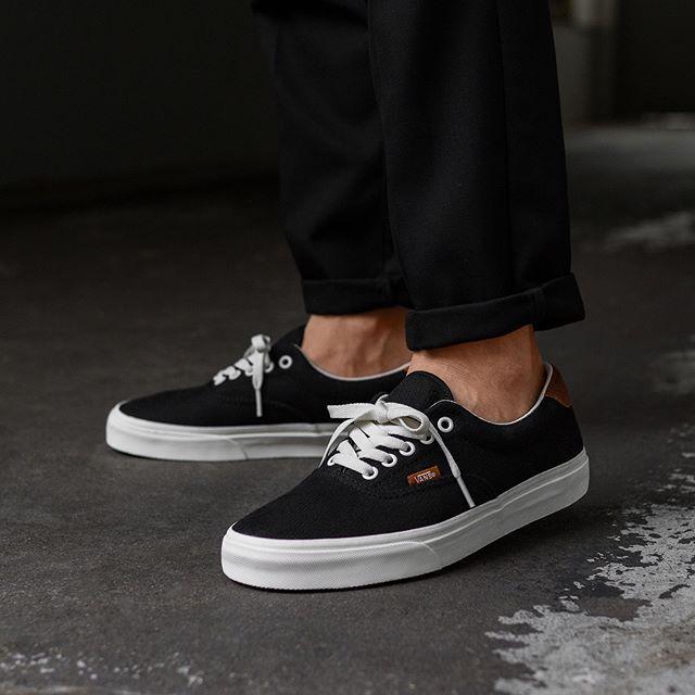 988efc337d46 Vans Era 59  Flannel  (Black) in 2019