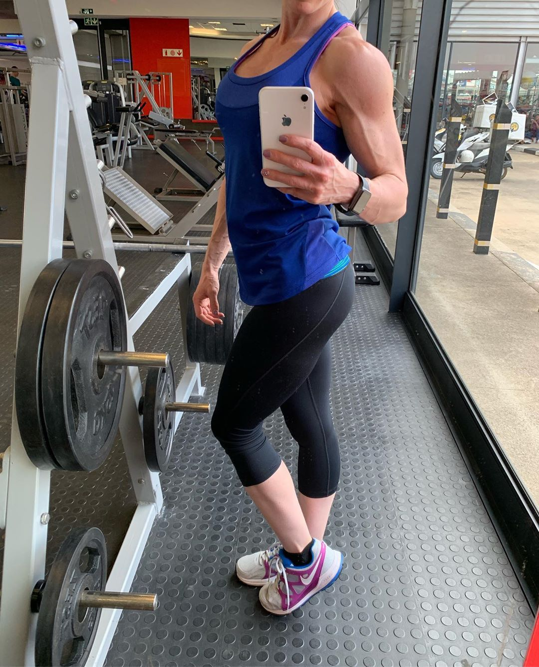 Some woman fear the fire Others simply become it 🔥🔥🔥🔥🔥🔥🔥🔥🔥🔥🔥 #girlswholift #girlswithmuscle #fitlife...