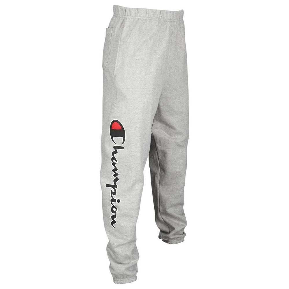 6efbcbf0a32a New Champion Mens Gray Reverse Weave Three Pocket Jogger Sweatpants Size  Small  Champion  CasualPants