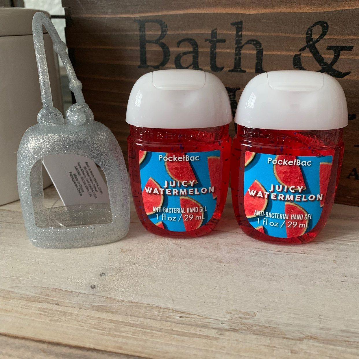 Bath Body Works 2019 Halloween Pocketbac Set Glittered Silicone