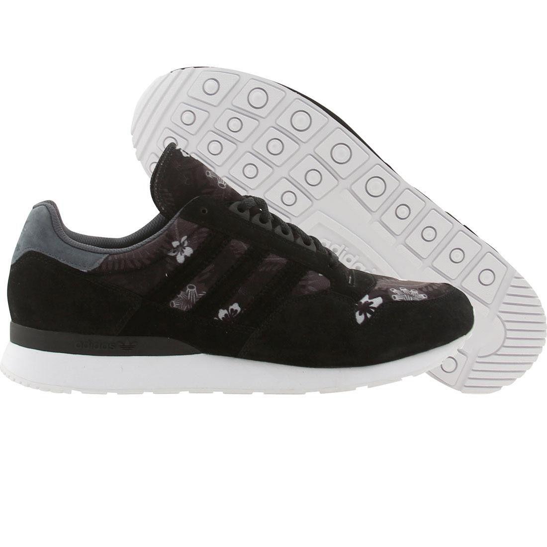 Adidas Men Zx 500 Hawaiian Black Lead Runninwhite