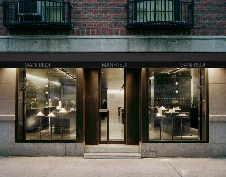 Storefront Design Ideas 17 best ideas about shop front design on pinterest shop signage shop fronts and store design The Brilliant Jewelry Shop Design Ideamanfredi Jewelry Store In New York