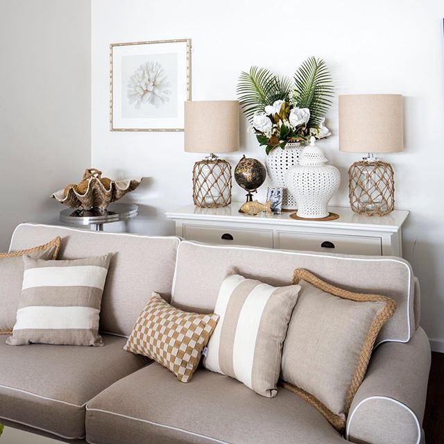 The Chic Technique Our East Hampton Sofa In Flax A Soft