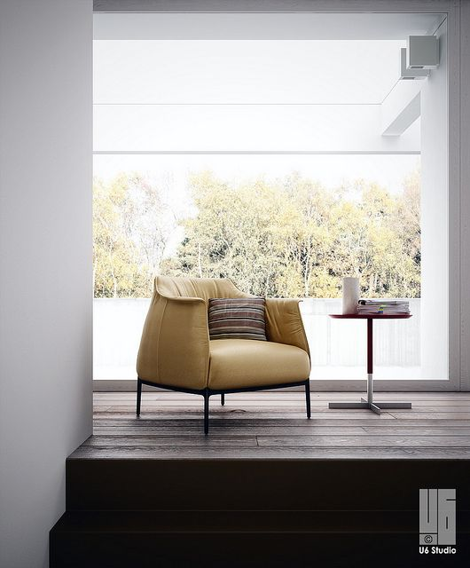 Archibald - Poltrona Frau in 2019 | padded | Lounge chair design ...