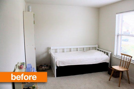 Before & After: Lucy's White to Wow! Bedroom