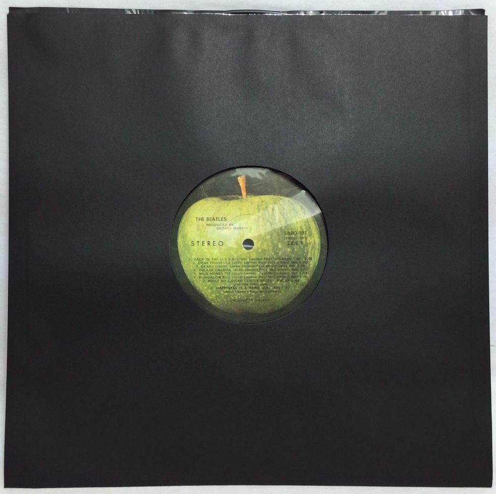 100 Black Polylined Record Inner Paper Poly Lined 12 Vinyl Album Lp Sleeves Ebay Lp Sleeve Vinyl Record Sleeves Vinyl