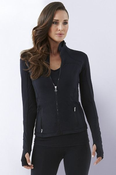 73b9c917 Essential Jacket - Black (Limited Stock) | Time to Layer Up! | Jackets,  Sports jacket, Compression clothing