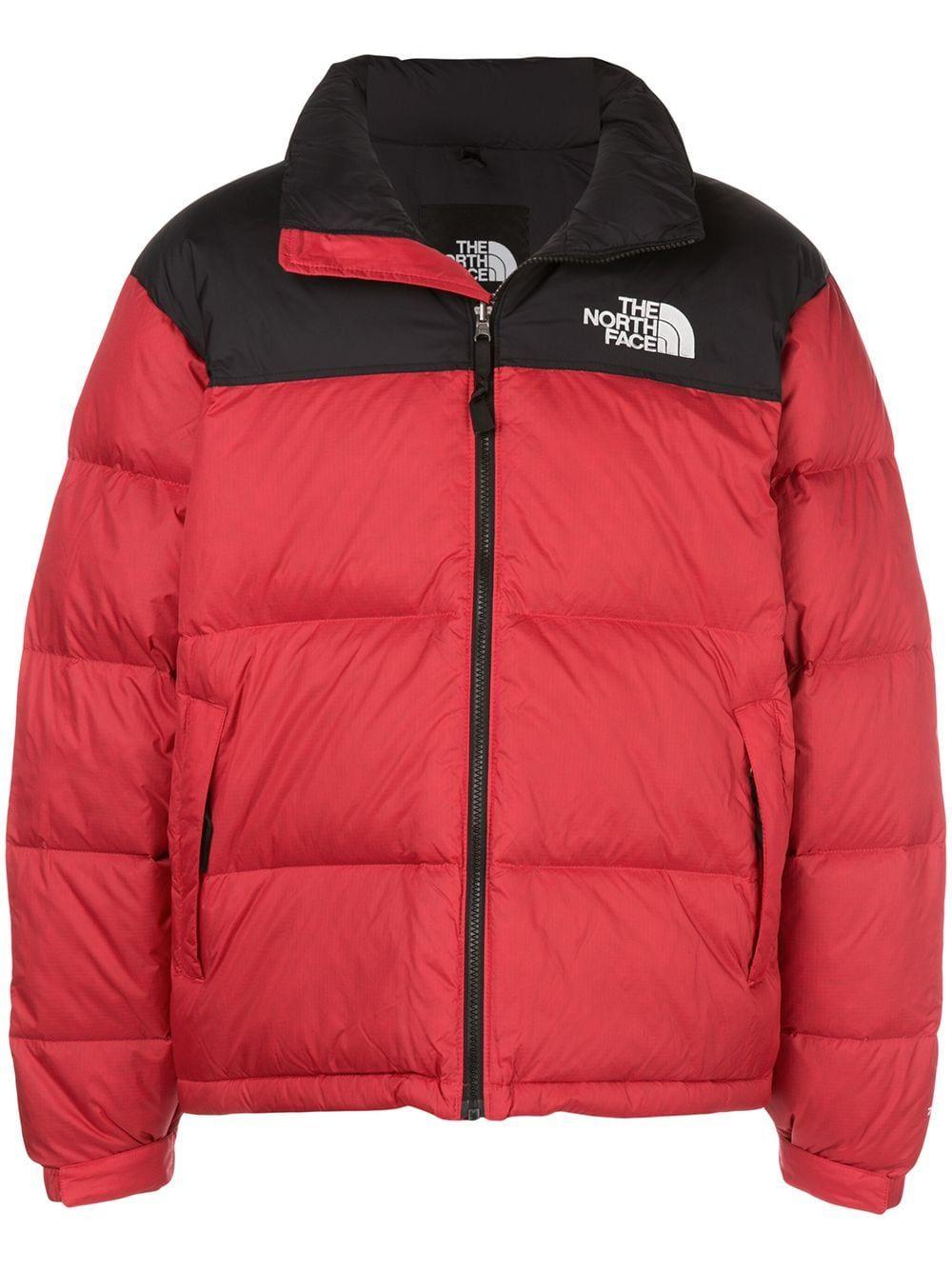 The North Face 1996 Retro Nuptse Jacket Farfetch The North Face Red Jacket North Face Jacket [ 1334 x 1000 Pixel ]