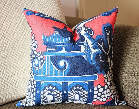 lee jofa willow pattern blue