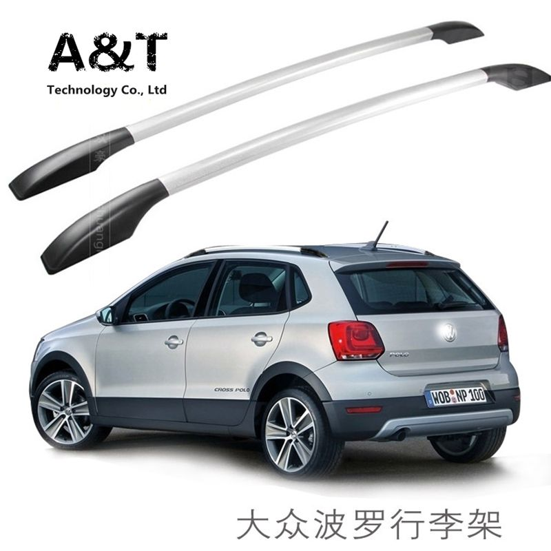 A T Car Styling For Volkswagen Polo Car Roof Rack Aluminum Alloy