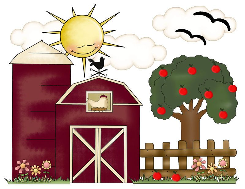 Farm Nursery Decor Barnyard Room Wall Art Decal Mural Baby Boy Shower Stickers  #decampstudios