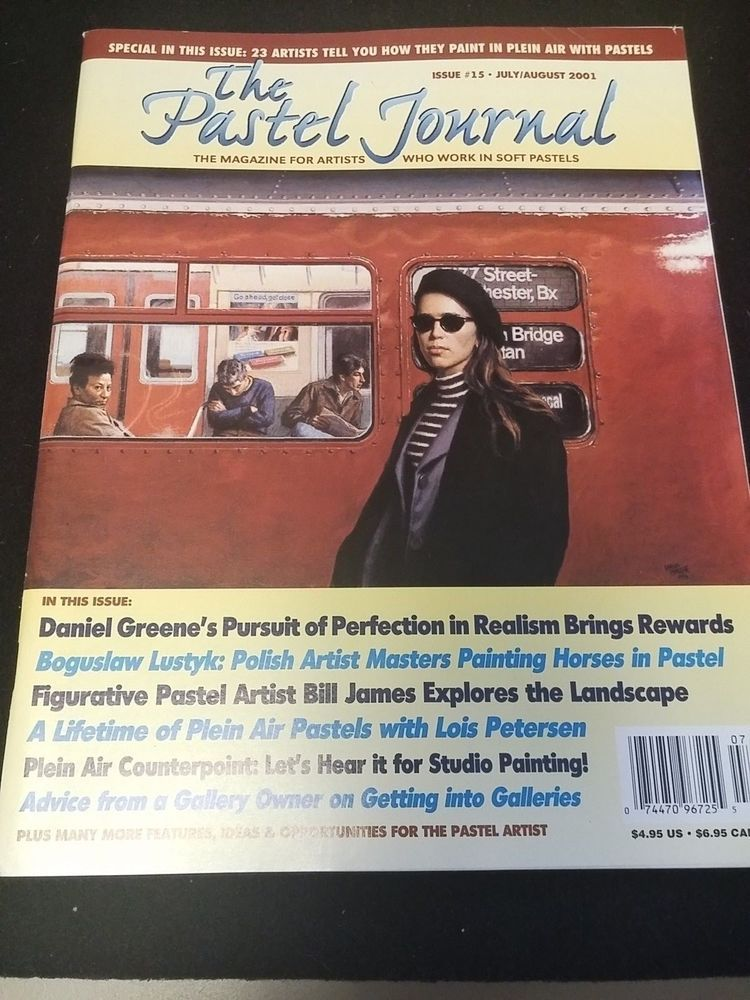 The Pastel Journal Issue 15 July 2001 Artists Tell You