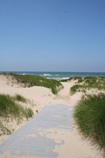 Benton Harbor Beach Great Walk Walks