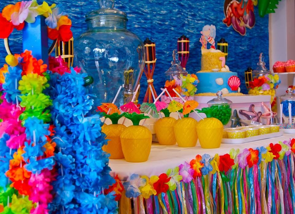 Marvelous Hawaiian Christmas Party Ideas Part - 8: Tropical / Hawaiian Party Theme More