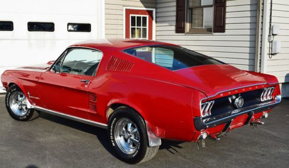 S Code 390 1967 Ford Mustang Fastback 4 Speed Mustang Fastback