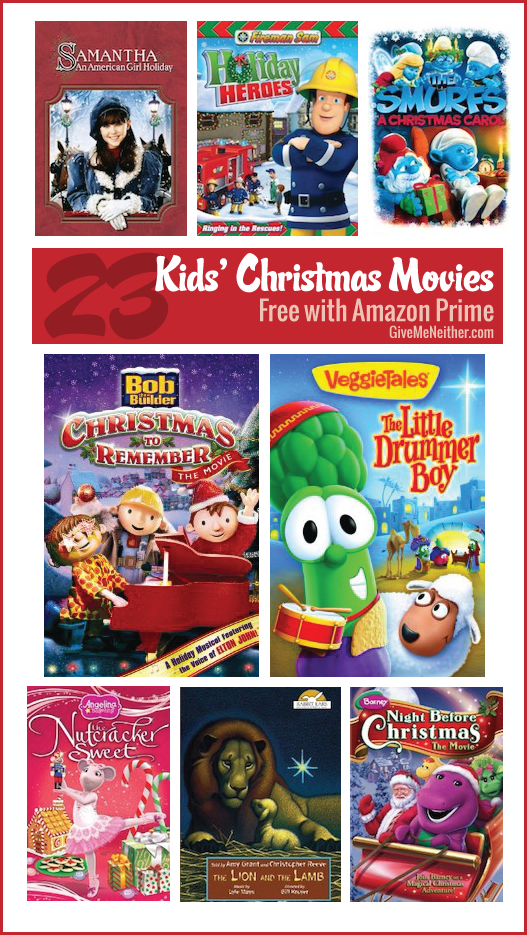 list of christmas movies for kids free with amazon prime givemeneithercom - Amazon Prime Christmas Movies