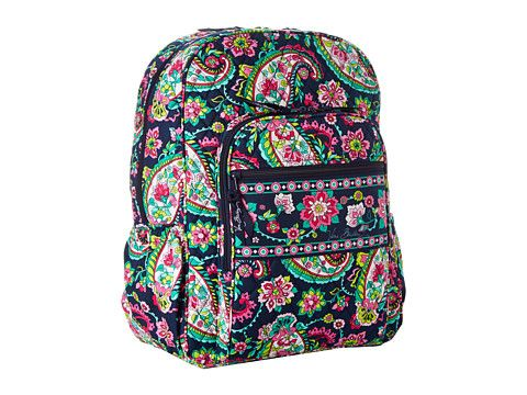 0f47368db5 Vera Bradley Campus Backpack Petal Paisley - Zappos.com Free Shipping BOTH  Ways