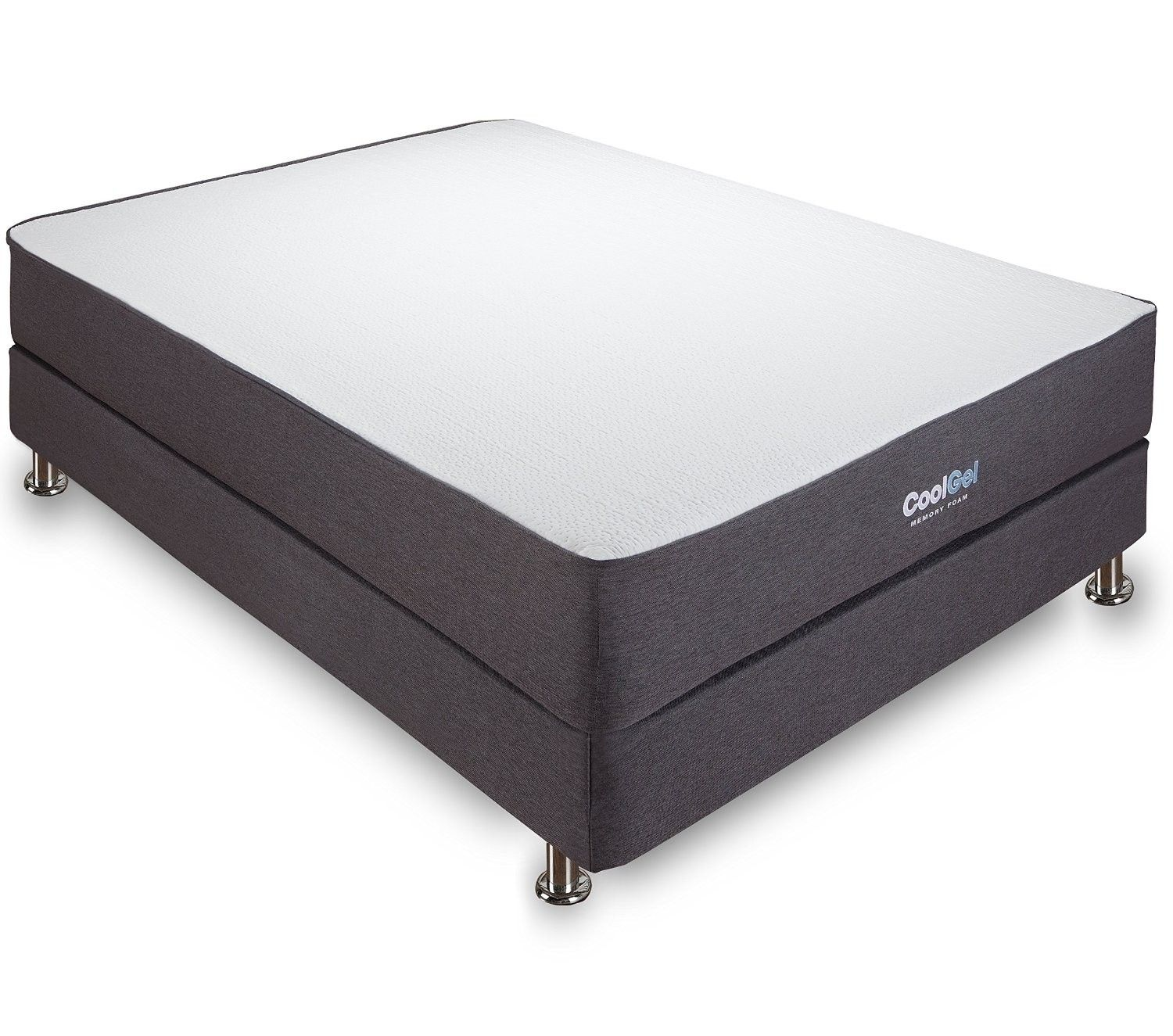Iso Pedic 10 5 Cool Gel Memory Foam Mattress By Dormia
