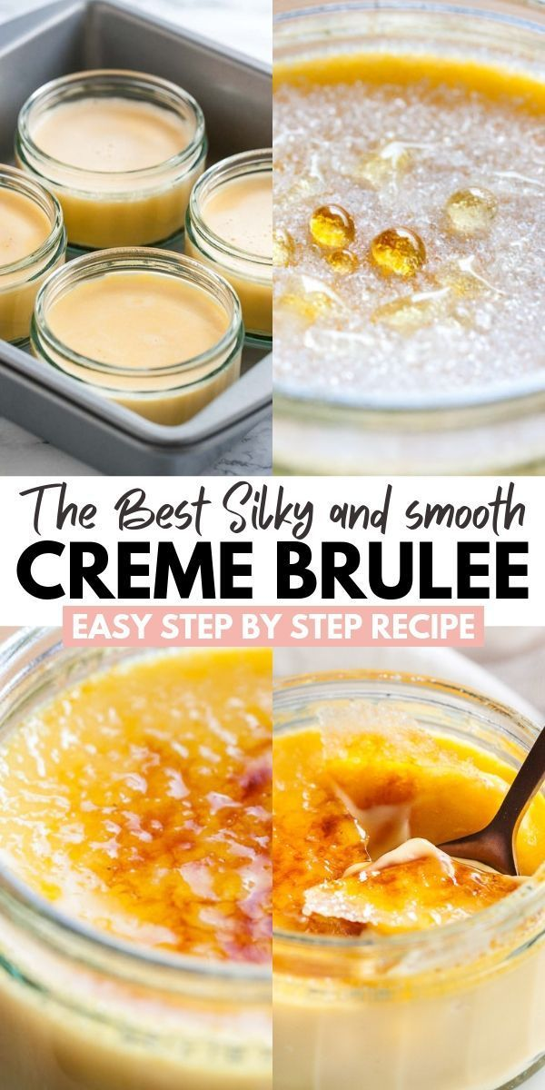 Photo of Easy Creme Brulee Recipe {A classic French Dessert}
