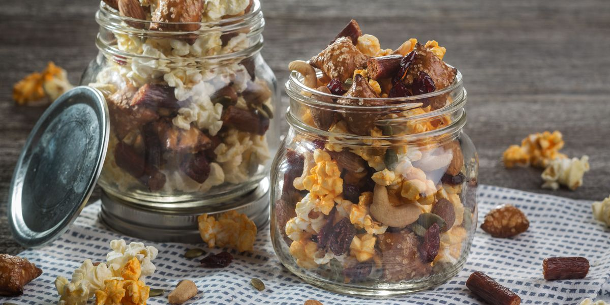 Popcorn trail mix ideas for your last summer hurrah!