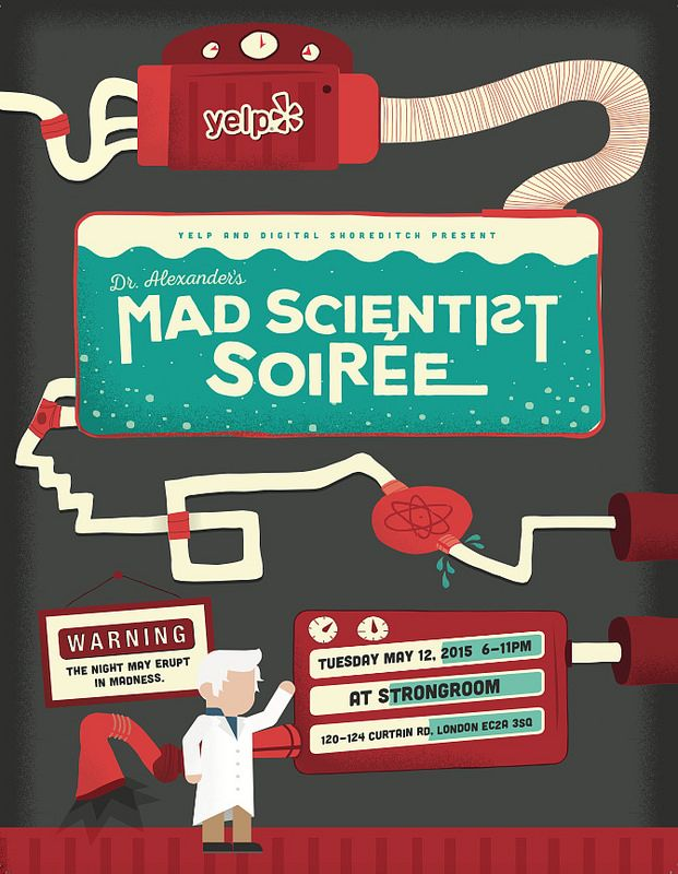 Shoreditch Bars: Win VIP Access To Yelp's Mad Scientist Soiree At