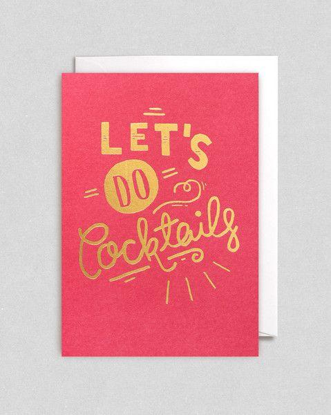 Lagom Hand Lettered Cards by Steph Baxter, via Behance